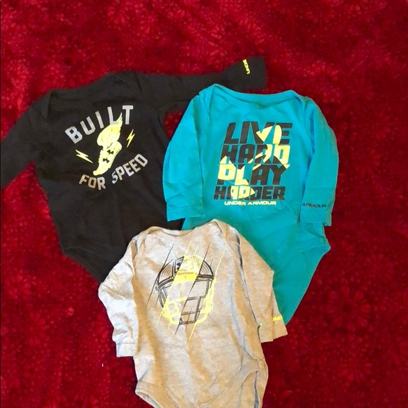 Under Armour Shirts Tops Baby Boy Clothes Poshmark
